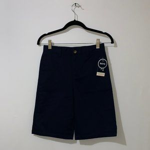 FRENCH TOAST NAVY BLUE SCHOOLWEAR SHORTS - SIZE 12